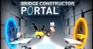 Bridge Constructor Portal: Brückenbau in verrückten Versuchslaboren