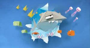 Derrick the Deathfin: witziges Unterwasserabenteuer mit einem gefrässigen Hai