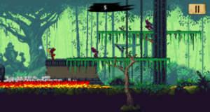 """""""Ninja Scroller: The Awakening"""" ist ein neuer Side-Scroller im Retro-Stil"""