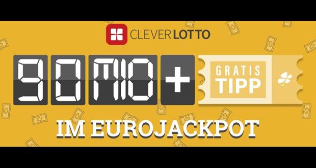 Jetzt mit Clever Lotto teilnehmen: Noch mehr Millionen im EuroJackpot
