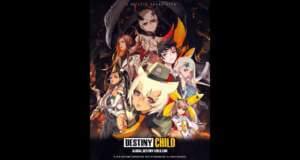 Erzählungsbasiertes CCG Destiny Child ist jetzt weltweit verfügbar