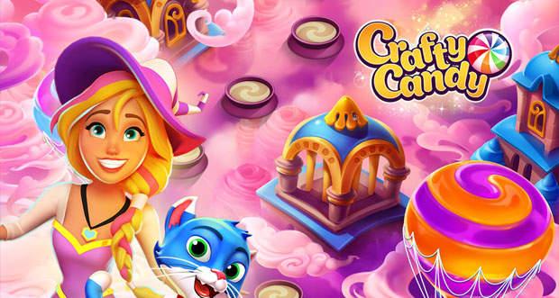 crafty candy ist wie candy crush saga aber mit einzigartigem crafting touch