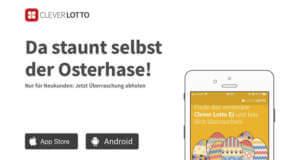 Ostern in der Clever Lotto App: Finde das versteckte Osterei