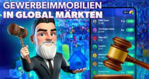 In Landlord GO können Spieler dank neuem Update des Business-Simulators nun Anteile an Städten kaufen