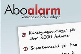 Aboalarm: schnell und einfach unnötige Verträge kündigen