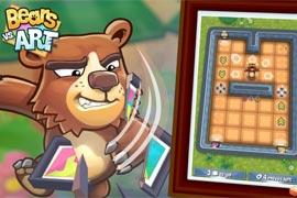 bears-vs-art-gameplay-trailer-halfbrick-puzzle