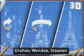 """Blaupausen-Puzzle """"Blueprint 3D"""" von FDG Entertainment wieder einmal gratis"""