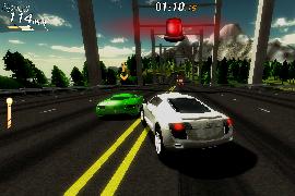 """Neue Screenshots von Arcade-Racer """"Crazy Cars – Hit the Road"""", Release nächsten Montag"""