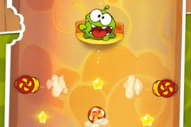 "Neues Update für ""Cut the Rope"" mit 25 neuen Levels & neuem Gameplay-Element freigeschaltet"