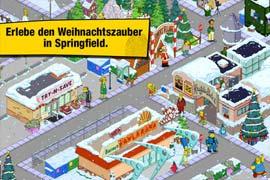 """Update bringt Weihnachten für """"Die Simpsons™: Springfield"""""""