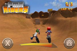 """""""FMX Riders"""" & """"Icarus-X"""" von The Quadsphere gratis im AppStore"""