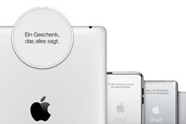 Kostenlose Gravuren für deinen iPod oder iPad