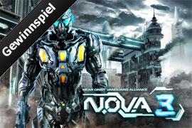 """Gewinnspiel: Gamelofts neuen Shooter """"N.O.V.A. 3"""" vor allen anderen spielen"""