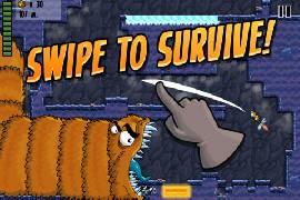 Worm Run: die endlose Flucht vor dem Killerwurm