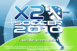 Rechtzeitig zur WM: X2 Soccer 2010 im AppStore erschienen