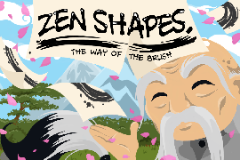 "Preview ""Zen Shapes: The Way of the Brush"": neues Puzzle von dreamfab weckt Erinnerungen"